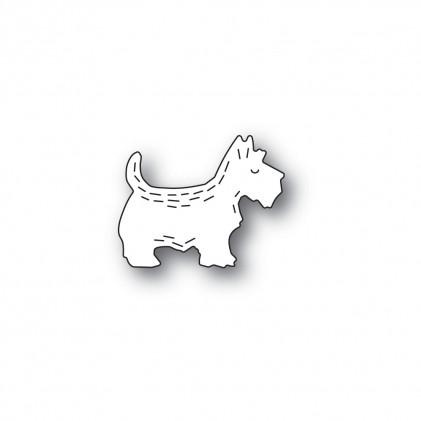 Poppy Stamps Stanzschablone - Whittle Scottie