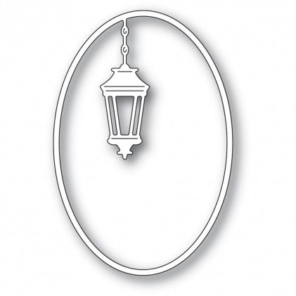 Poppy Stamps Stanzschablone - Simple Lantern Oval