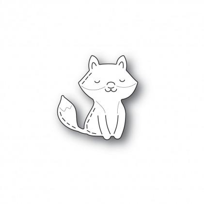 Poppy Stamps Stanzschablone - Whittle Happy Fox