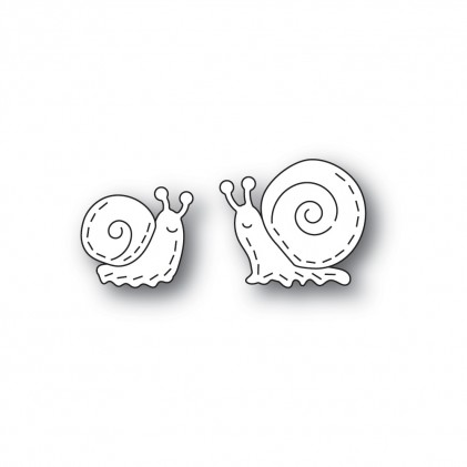 Poppy Stamps Stanzschablone - Whittle Snails
