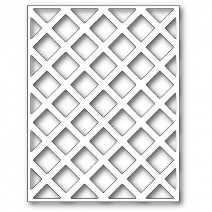 Poppy Stamps Stanzschablone - Lattice Plate