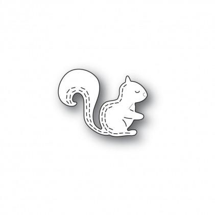 Poppy Stamps Stanzschablone - Whittle Forest Squirrel
