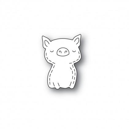 Poppy Stamps Stanzschablone - Whittle Pig