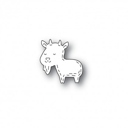 Poppy Stamps Stanzschablone - Whittle Goat