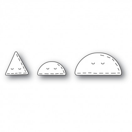 Poppy Stamps Stanzschablone - Whittle Taco and Nacho