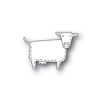 Poppy Stamps Stanzschablone - Whittle Cow
