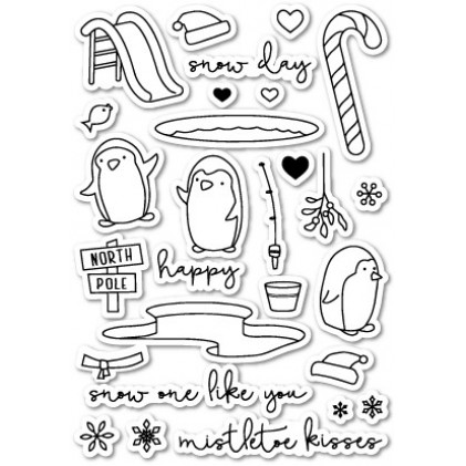 Poppy Stamps Stempel - Snow One Like You Clear Stamp Set