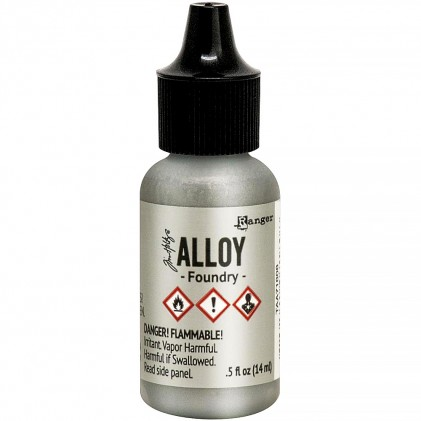 Adirondack Alcohol Ink Alloys -  Foundry
