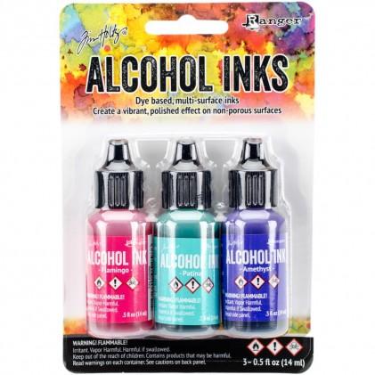 Adirondack Alcohol Inks - 3er Set Beach Deco