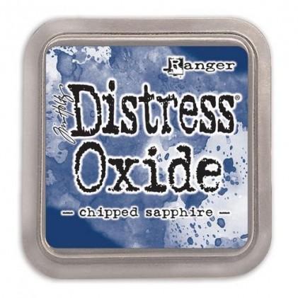 Ranger Distress Oxide Stempelkissen - Chipped Sapphire
