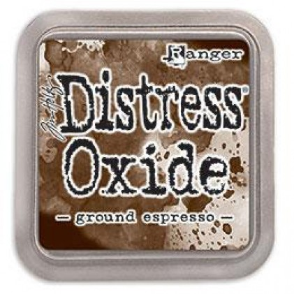 Ranger Distress Oxide Stempelkissen - Ground Espresso