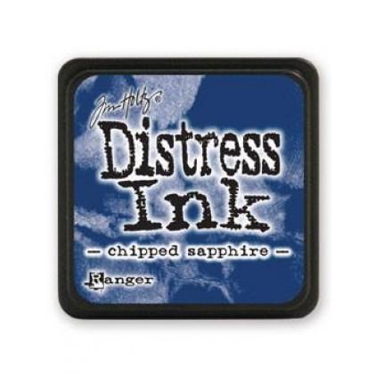 Ranger Distress Mini Stempelkissen - Chipped Sapphire