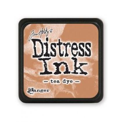 Ranger Distress Mini Stempelkissen - Tea Dye