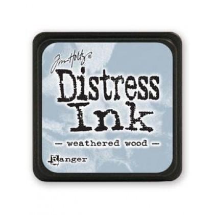 Ranger Distress Mini Stempelkissen - Weathered Wood