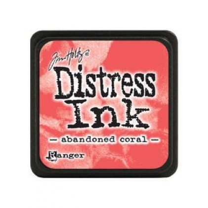Ranger Distress Mini Stempelkissen - Abandoned Coral
