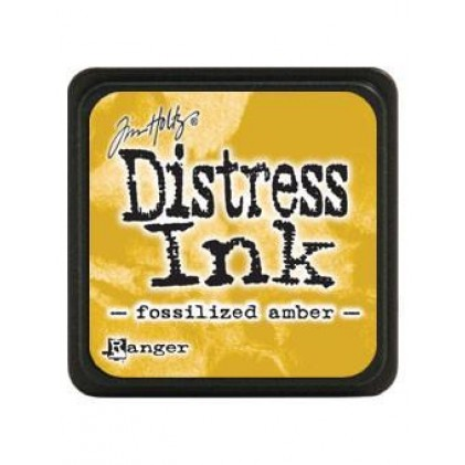 Ranger Distress Mini Stempelkissen - Fossilized Amber