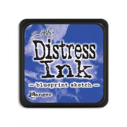Ranger Distress Mini Stempelkissen - Blueprint Sketch