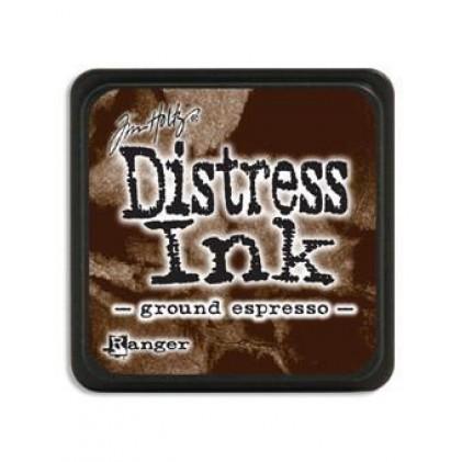 Ranger Distress Mini Stempelkissen - Ground Expresso