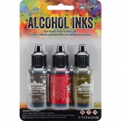 Adirondack Alcohol Inks - 3er Set Tuscan Garden