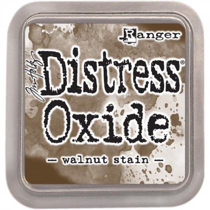 Ranger Distress Oxide Stempelkissen - Walnut Stain