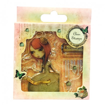 Santoro Clear Stamps - Mirabelle Collection - Ask Me To Dance