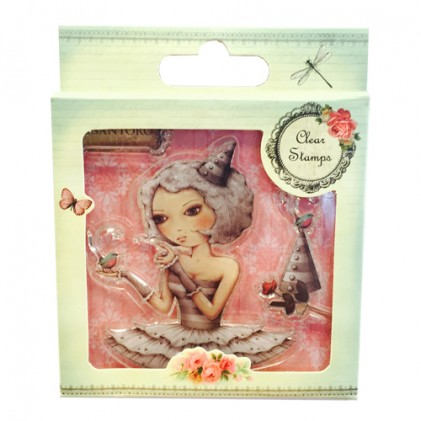 Santoro Clear Stamps - Mirabelle Collection - Tell Me Something