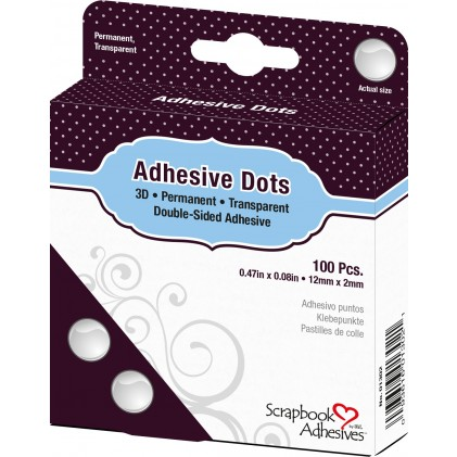 Scrapbook Adhesives Adhesive Dots Klebepunkte - 3D (2mm hoch)