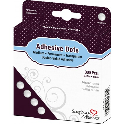 Scrapbook Adhesives Adhesive Dots Klebepunkte - Medium (8mm)