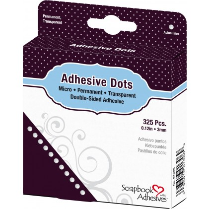 Scrapbook Adhesives Adhesive Dots Klebepunkte - Micro (3 mm)