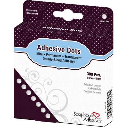 Scrapbook Adhesives Adhesive Dots Klebepunkte - Mini (5 mm)