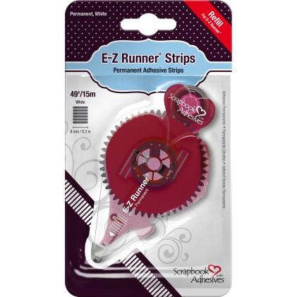 Scrapbook Adhesives E-Z Runner Permanent Strips Kleberoller Nachfüller