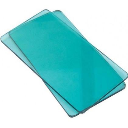 Sizzix Sidekick Ersatzplatten 12,4 x 6,4 cm Aqua