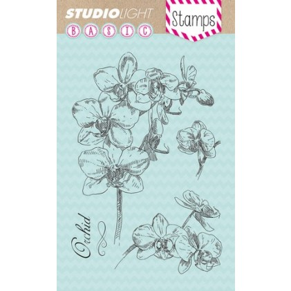 Studio Light Clear Stamps - Orchideenblüte