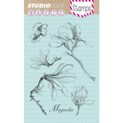Studio Light Clear Stamps - Magnolienblüte
