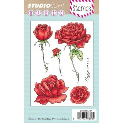 Studio Light Clear Stamps - Rosen