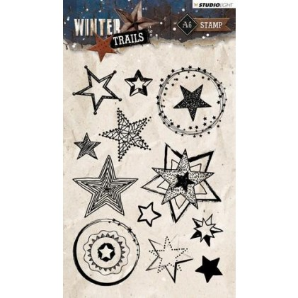 Studio Light Clear Stamps A6 - Winter Trails Nr. 300
