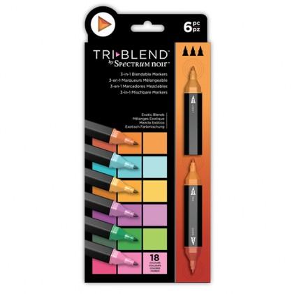 Spectrum Noir TriBlend Markers - Exotic Blends