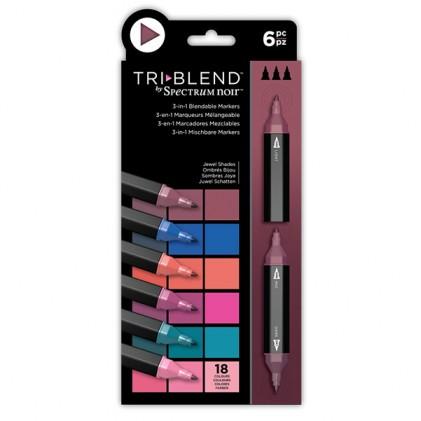 Spectrum Noir TriBlend Markers - Jewel Shades