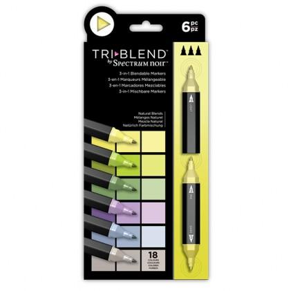 Spectrum Noir TriBlend Markers - Natural Blends