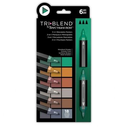 Spectrum Noir TriBlend Markers - Woodland Shades