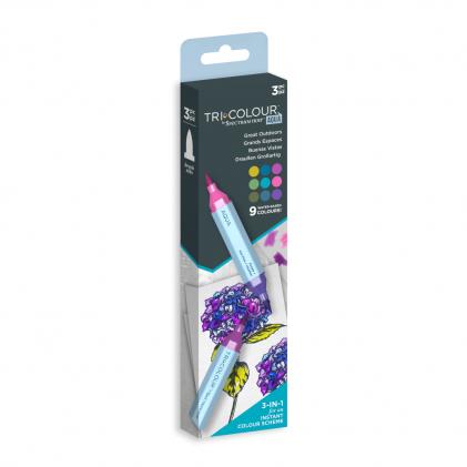 Spectrum Noir TriColour Aqua Markers - Great Outdoors
