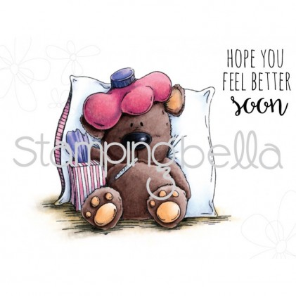 Stamping Bella Cling Stamps - Stuffy Stuffie