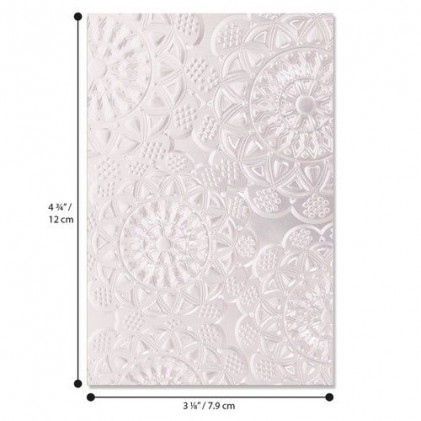 Sizzix 3D Embossing Folder Prägeschablone - Doily