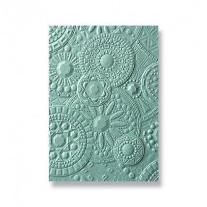 Sizzix 3D Embossing Folder Prägeschablone - Mosaic Gems