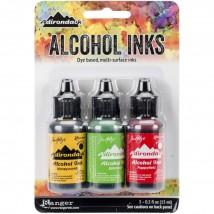 Adirondack Alcohol Inks - 3er Set Conservatory