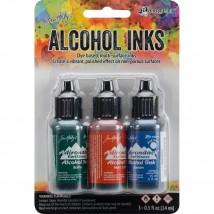 Adirondack Alcohol Inks - 3er Set Rustic Lodge
