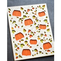 Birch Press Stanzschablone - Autumn Breeze Plate Layer Set