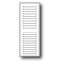 Poppy Stamps Stanzschablone - Small Madison Window Shutter