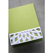 Birch Press Stanzschablone - Mini Dazzle Bevel Plate Layer Set