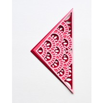 Birch Press Stanzschablone - Frilly Triangle Layer Set